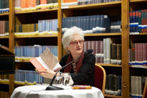 """Claudia Erdheim 2015, Präsentation von """"In der Judenstadt"""""""