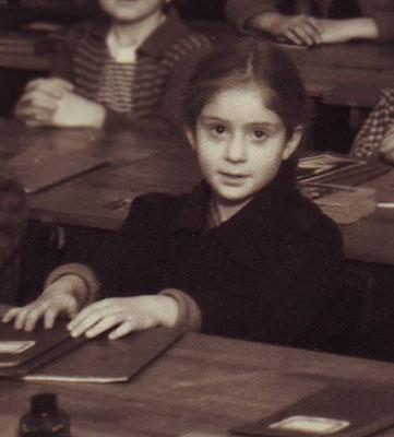 Claudia Erdheim, 1. Volksschulklasse 1951/52