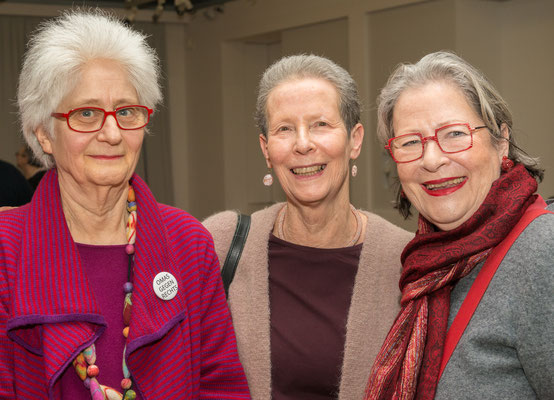 Claudia Erdheim, Emmy Pilny, Susanne Scholl, Präsentation 2018