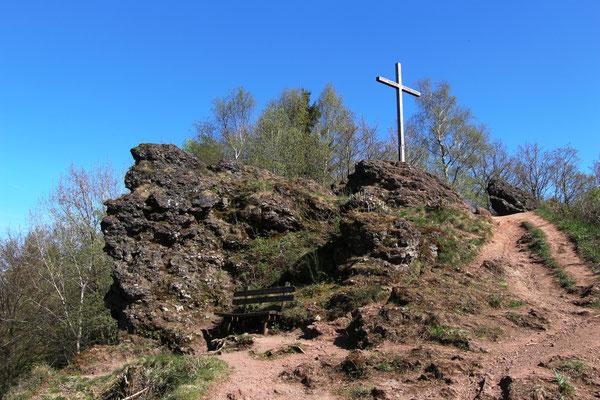 Gipfelkreuz am Mosenberg