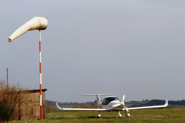 Sportflugplatz am Schalkenmehrener Maar