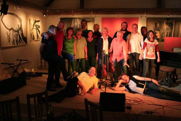 Chorissimo, Eidaxl-Combo, Gerd Friedl, Nicole Müller, Richard Jobst & Harald Pomper
