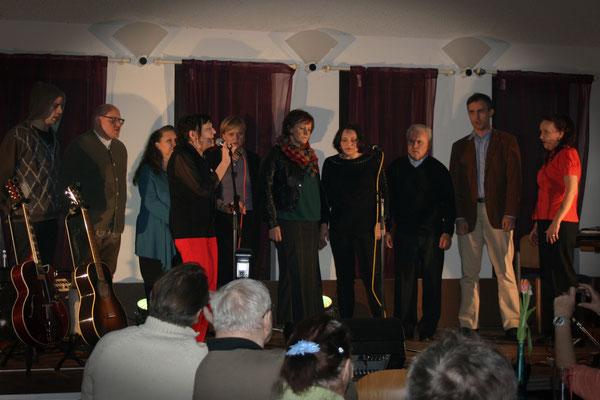 Liane Probst & Judith Kaiser mit den Happy Voices