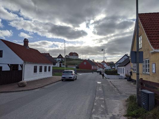 Straßenansicht in Lonstrup