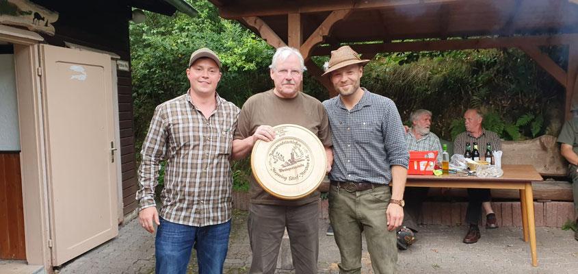 1. Platz Rudi Windscheif (Mitte), mit René Niemann und Christopher Kirschbaum