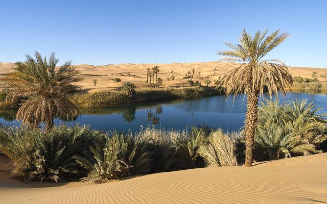 Mandara Lake / Libya