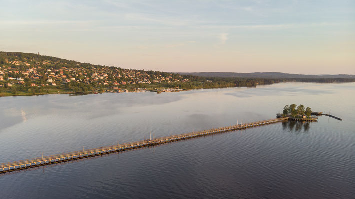 Pier in Raatvik - Sweden