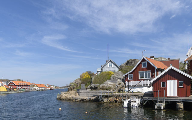 Fishing village - Sweden