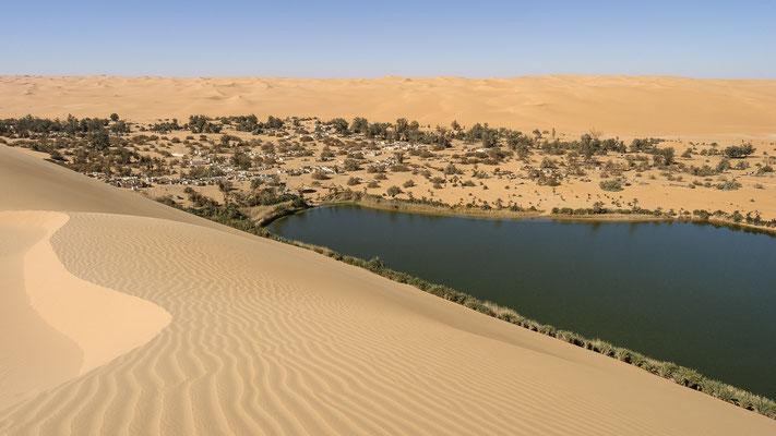 Gaberoun Lake / Libya