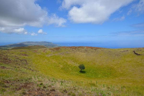 Vulcano Terevaka - Easter Island