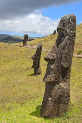 Rano Raraku quarry - Easter Island