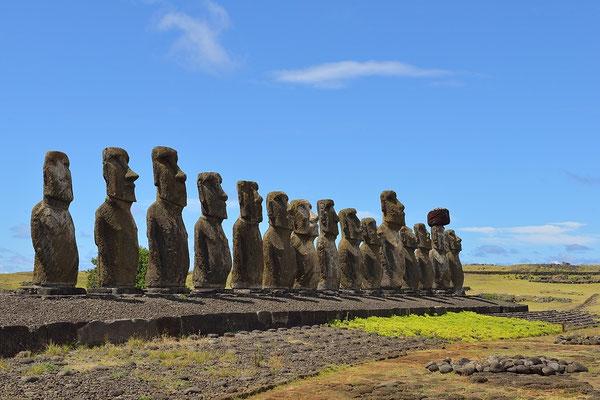 Tongariki - Easter Island