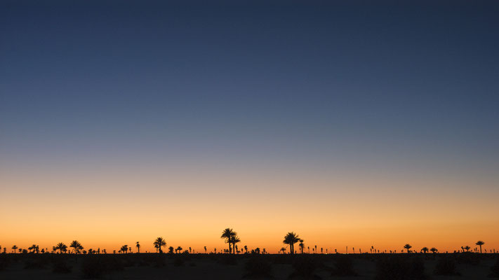 Sunset / Libya