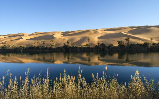 Manda Lake / Libya