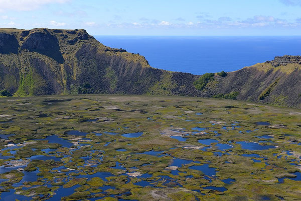 Vulcano Rano Kau - Easter Island