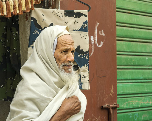 Man in the streets of Tripolis / Libya