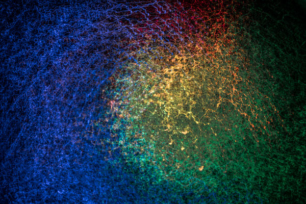 exploring light – ICM + lightpainting