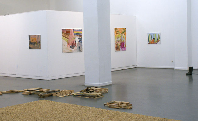 Installation View, Lea von Winzingerode