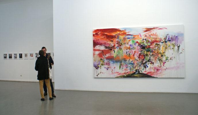 Installation View, Front: Vladimier Schneider