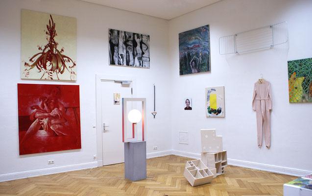 Installation View @ 213a/b, Seminarraum Prof. Michael Diers
