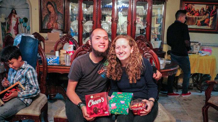 Auch für uns gab es Geschenke