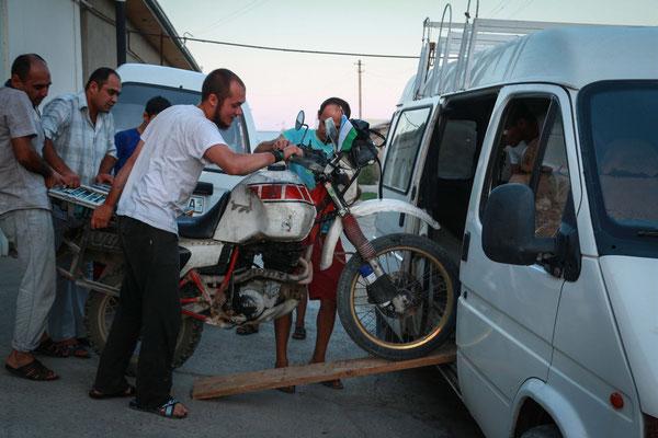 Transport nach Taschkent