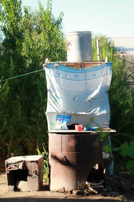 Usbekische Dusche