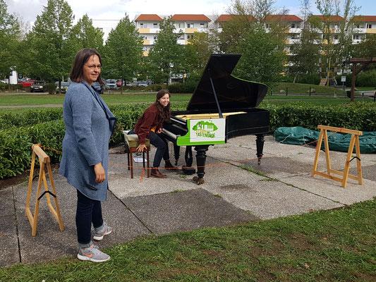 Unsere Pädagoginnen Madlen Sperl und julia keidl