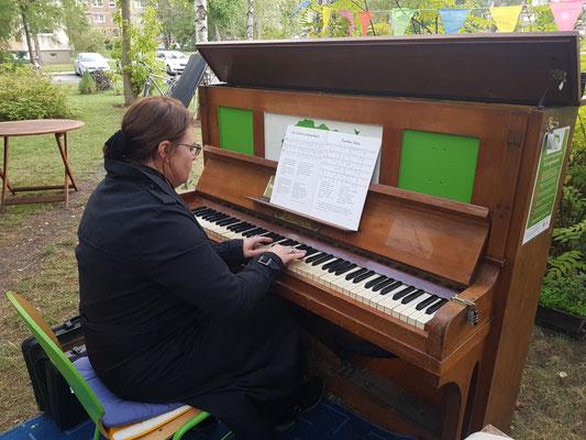 Leipziger Tastentage Klavier Standort Hundtscher Park