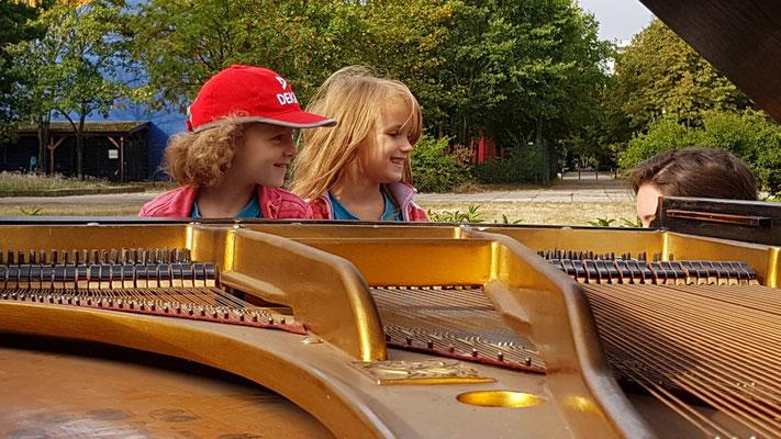 Pädagogisches Angebot Piano Musik Leipzig Grünau Montessori Schule