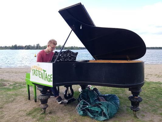 Leipziger Tastentage Klavier Standort Kulkwitzer See
