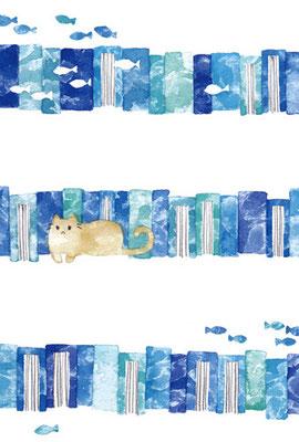 PT-04「青い本とネコ」