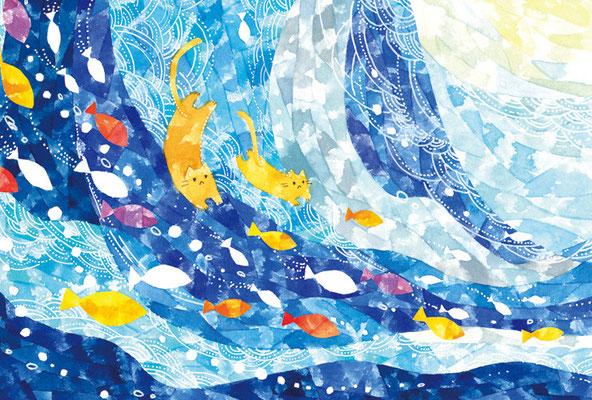 PY-05「海とネコ」