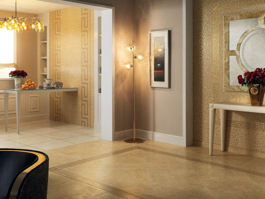 Versace serie vanitas casaeco pavimenti e rivestimenti in ceramica
