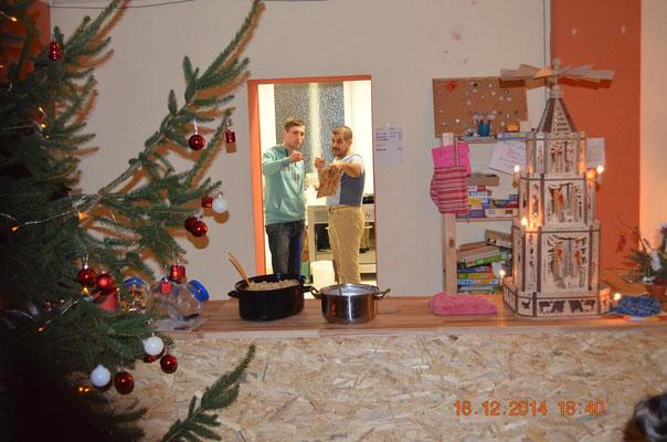 Weihnachtsfeier Mitarbeiter.Mitarbeiter Weihnachtsfeier 2014 Cvjm Glauchaus Webseite
