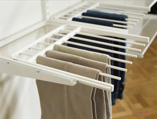 Begehbarer Kleiderschrank, Elfa Regalsystem, Kleiderschrank begehbar, Regalsystem Metall