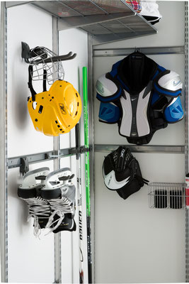 Kellerregal, Regale für Keller, Elfa Regalsystem für Keller, Regalsystem Metall, Regale für Werkzeug