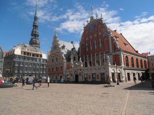 Schwarzhäupterhaus in Riga, Lettland