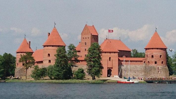 Wasserschloss Trakei, Litauen
