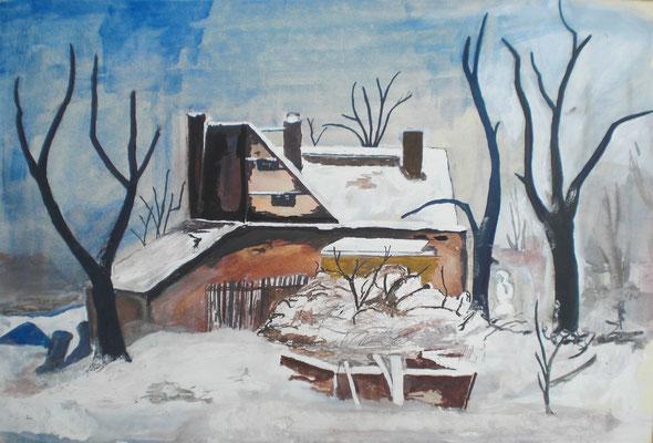 Altes Haus am Letzten Seufzer