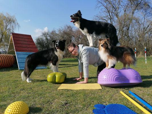 Lena (AUSTRIA) mit Winnie, Thony & LeGo