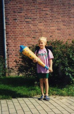 Einschulung Grundschule am Stern Uelzen (1993)