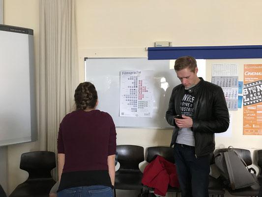 Studierende der Universität Bielefeld
