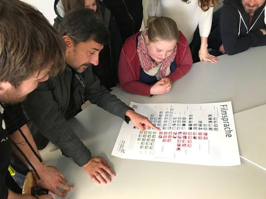 Lehrende und Studierende der Universität Bielefeld