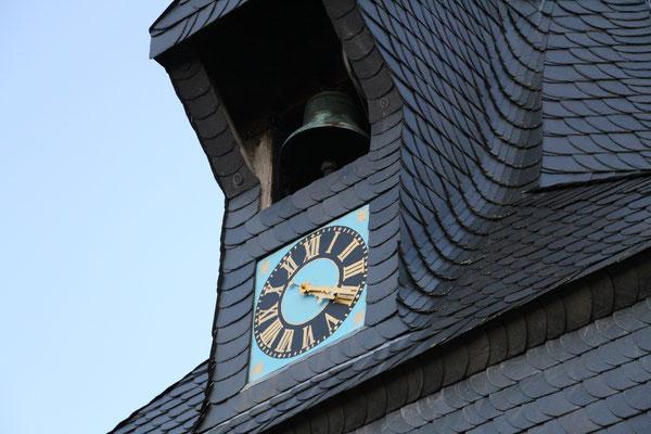 Der Glockenturm der Kirche Flachstöckheim, Foto: Kristina Branz