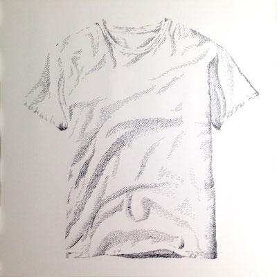 White Tee 2016 100x100 cm