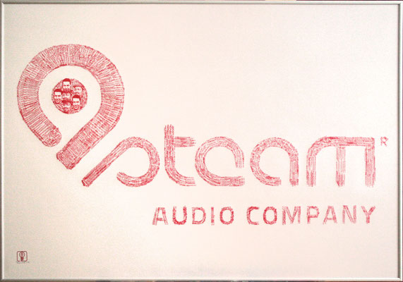 Steam Audio Company Logo 100x70 cm