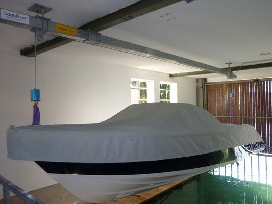 Ein schönes Boot - sauber und sicher verwahrt
