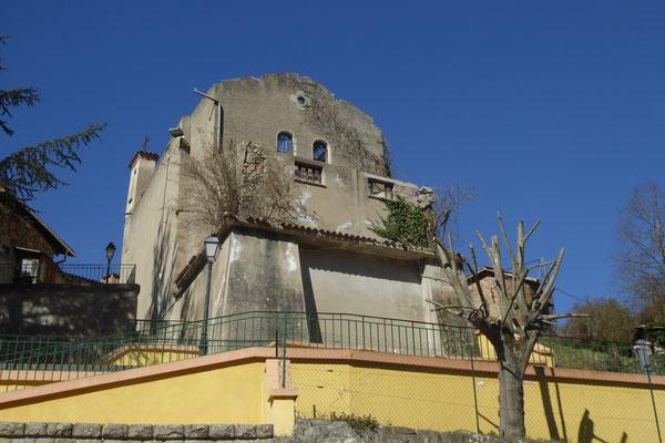 Carros Construction - rénovation de la chapelle de Lantosque