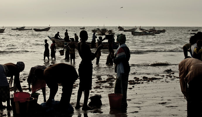 Tanji fishing village, Gambia